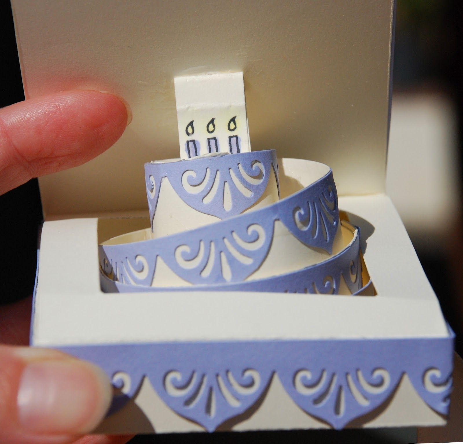 Always wanted to be able to do this maybe with the help of spiral paper strip pop up cake card bookmarktalkfo Gallery