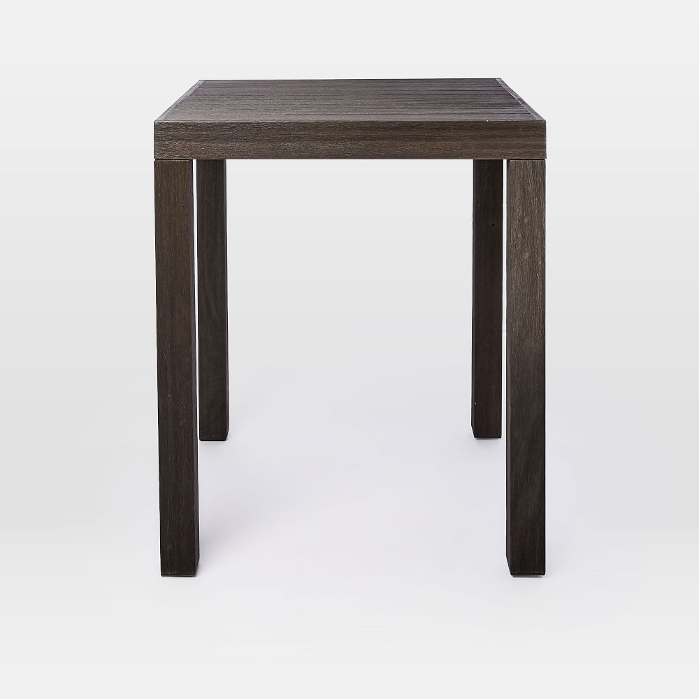 Portside outdoor counter table weathered cafe furniture in
