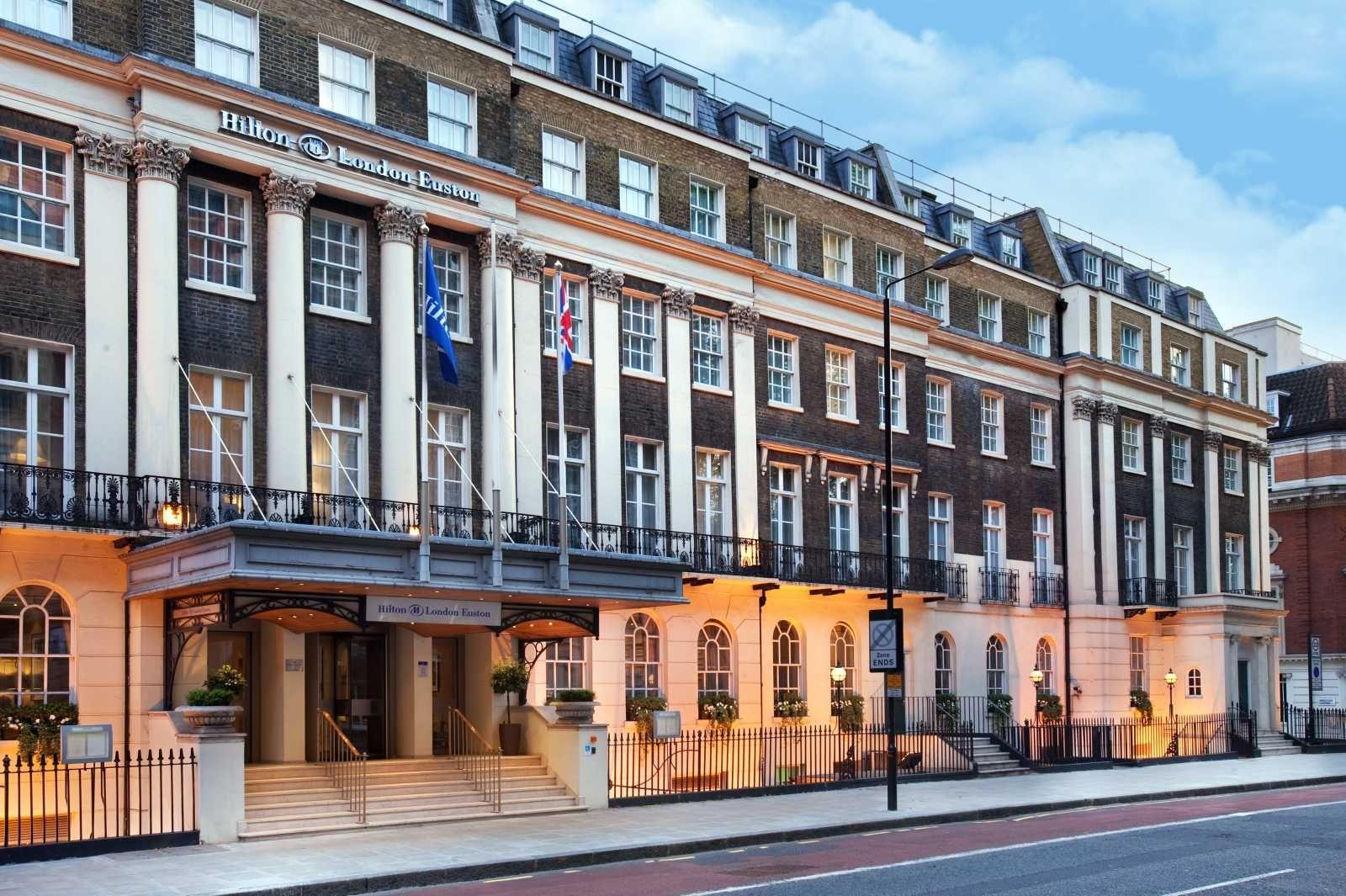 Hilton London Euston Hotel London Hotels London Stay Victorian Buildings