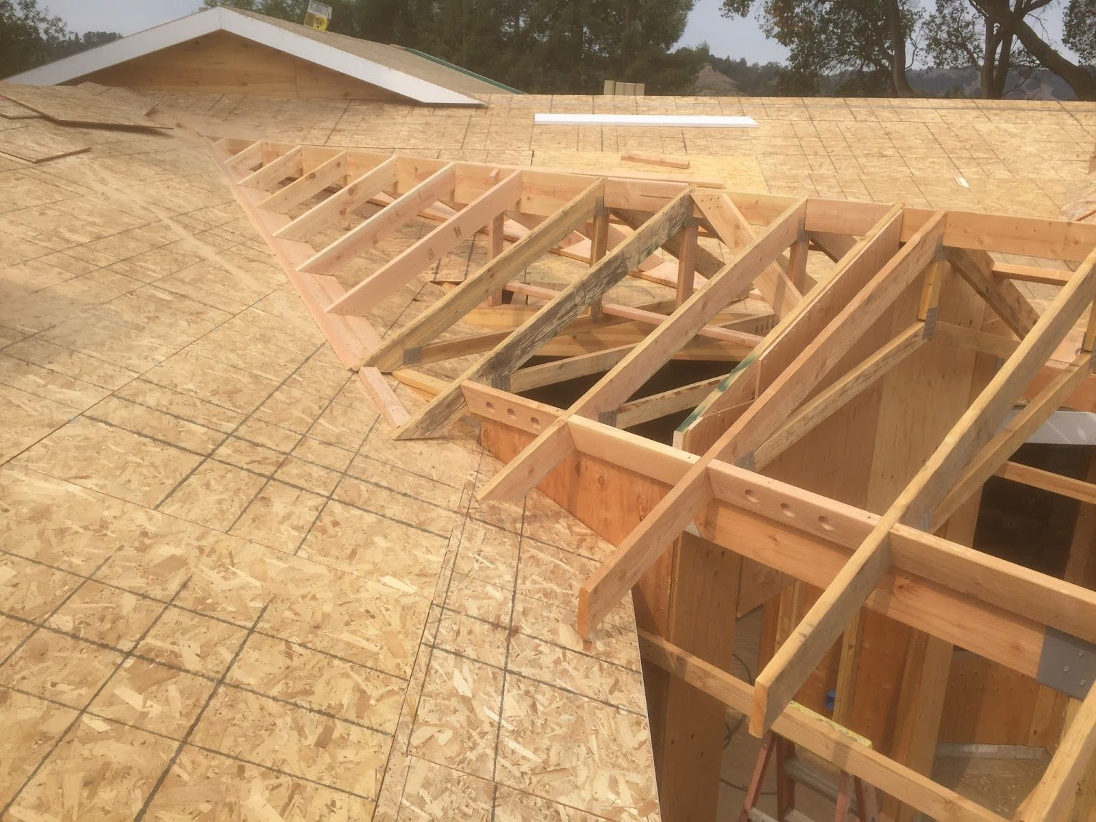 A Blog About Roof Framing Geometry Roof Framing Flat Roof