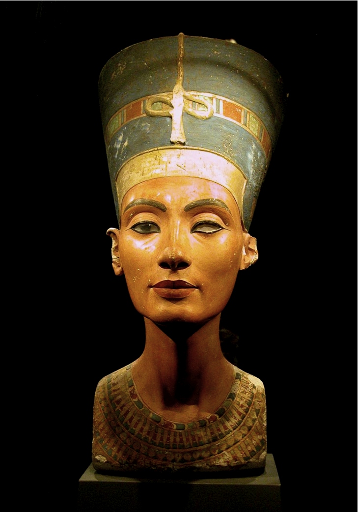 Egyptian Queen Nefertiti | A Brief History of Fashion | Egyptian