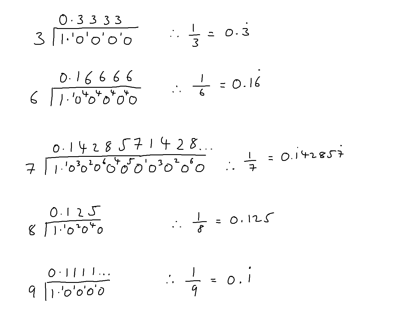 Fractions Solved