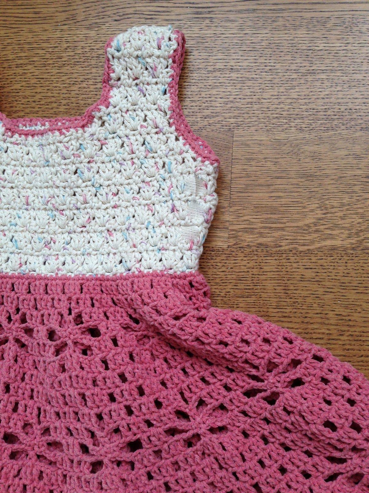 Little Girl Vintage Dress Free Pattern By AnnooCrochet Designs I ...