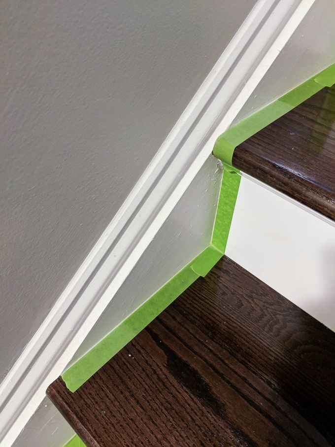 Best How To Caulk Hardwood Stairs Repair Cracked Stair Stringers And Trim Stairs Stringer 640 x 480