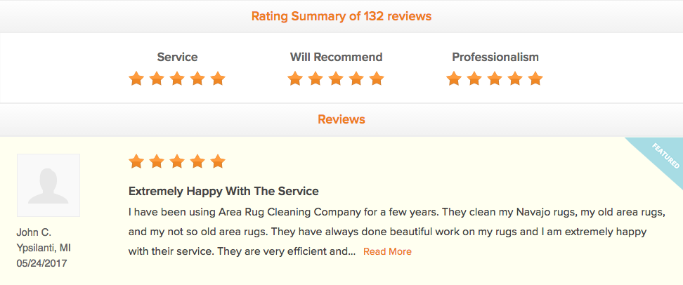 At Area Rug Cleaning Company In Ann Arbor Wayne Mi We Take Pride