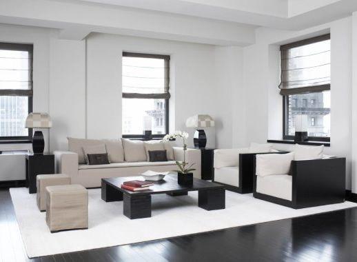 Simple Modern Black White Living Room Ideas Living Room Modern Black Living Room Interior Design Living Room