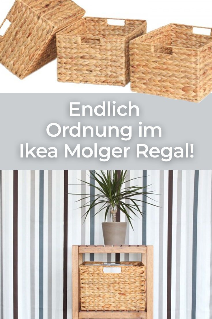 Mit Unseren Flechtkorben Fur Das Ikea Molger Regal Bringst Du Endlich Ordnung Bringst Endlich Ikea Molger Regal Ikea Molger Korb Badezimmer Aufbewahrung