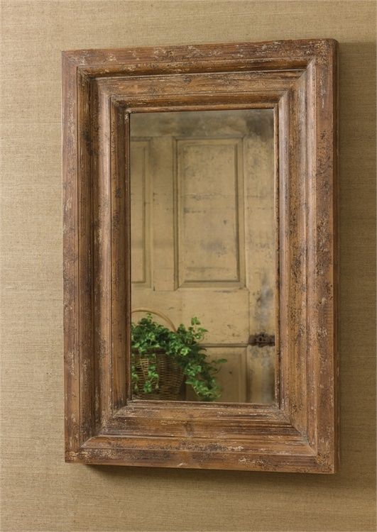 Details About Wooden Mirror Large Framed Distressed Finish Rustic Entryway Wall Mirrors Wood Mirror Wood Framed Mirror Distressed Wood Mirror
