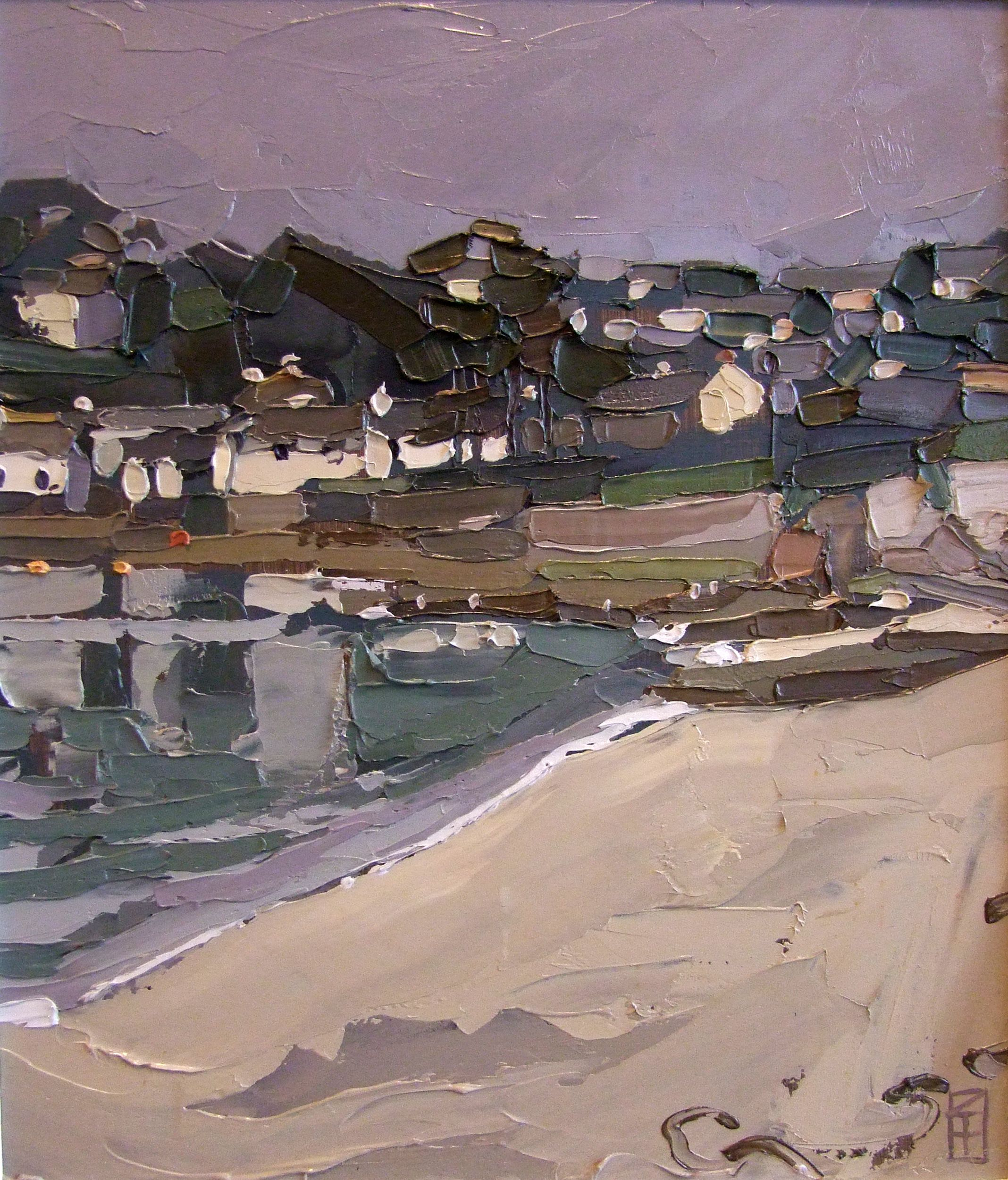 "Ben Taffinder Artist | The Harbour Gallery  ""Towards Idle Rocks  St Mawes"""