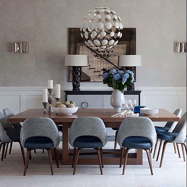 Via Knoll Inc Mid Century Two Toned Chair Modern Lighting Grey