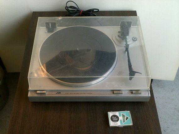JVC LA10 Turntable Record Player by TroysCollectibles on Etsy, $70.00