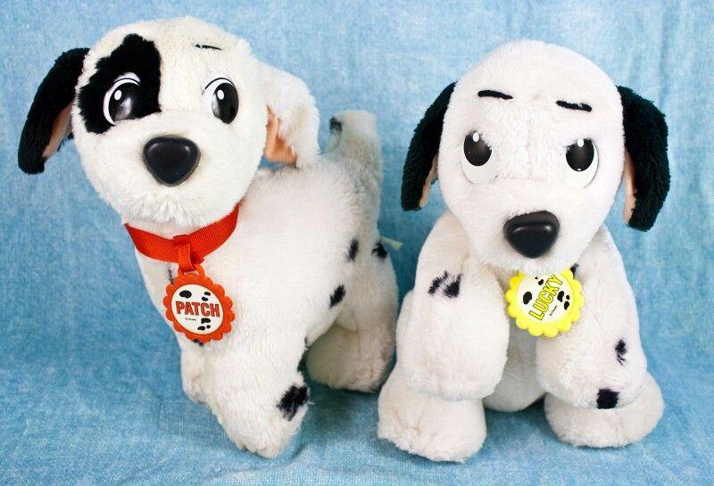Vintage 101 Dalmatian Stuffed Animmals 1991 Dalmatian Childhood Animals