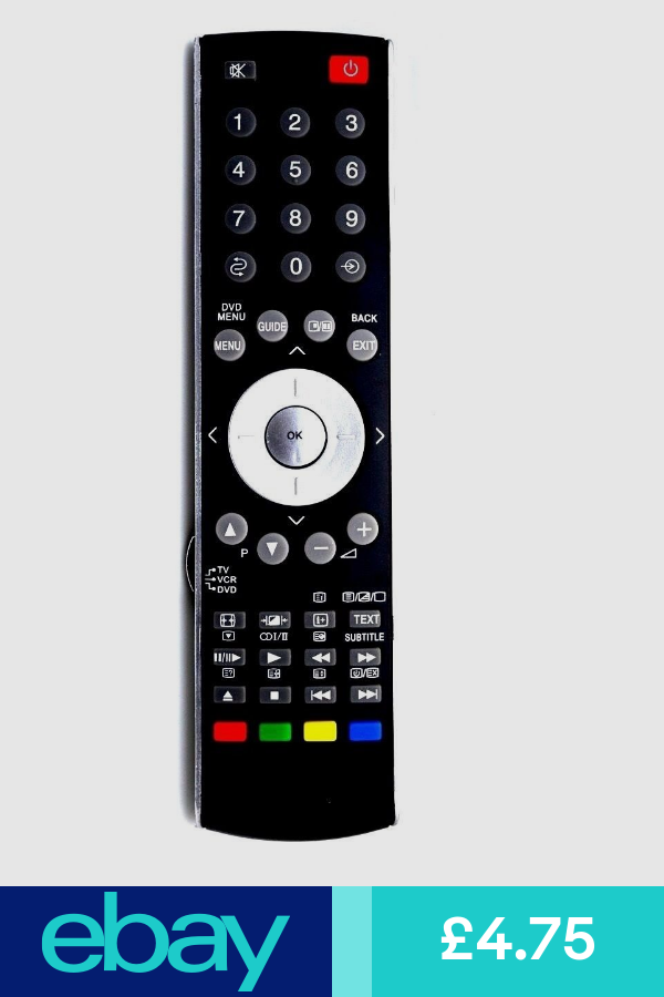 Replacement Remote Control For Toshiba Ct90307 Ct90287 Ct8002 Remote Tv Remote Controls Tv Remote