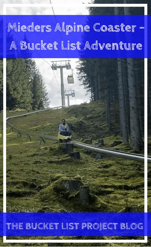 eec3c06ae50 Mieders Alpine Coaster - A Bucket List Adventure