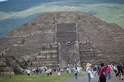 Teotihuacan ruins outside of Mexico City, Cuernavaca, Mexico