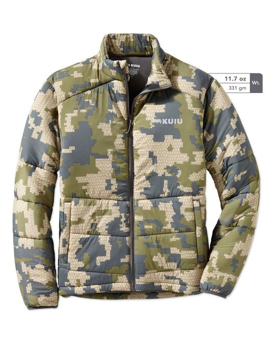 Teton Insulated Camo Hunting Jacket Ropa De Caza f79f9e4b01e