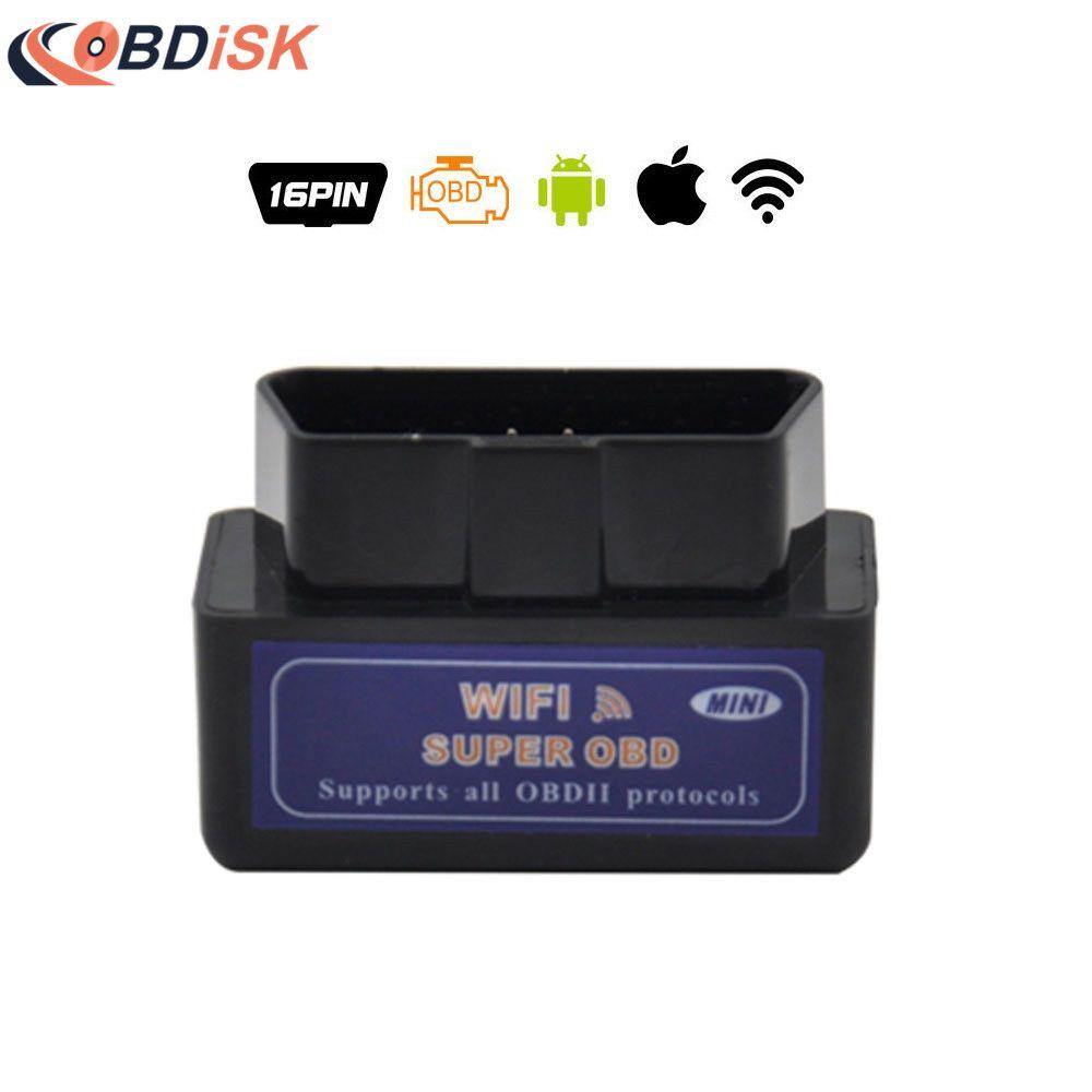 ELM327 Bluetooth OBD 2 CAN V1.5 Outil de Scan android OBD Reader//scanner
