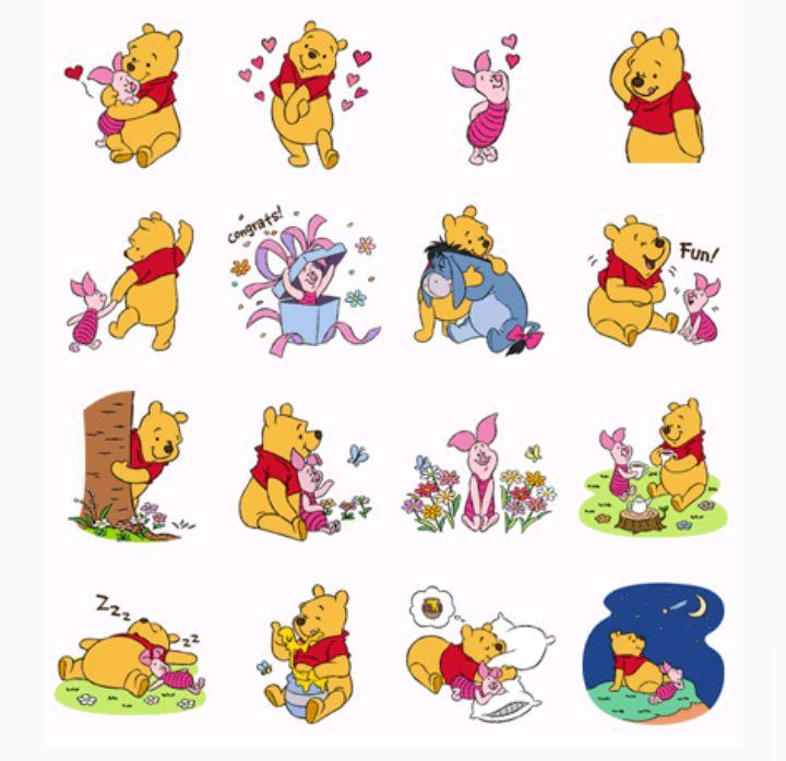 Winnie the Pooh   Stickers   Pinterest   Pooh bear, Winnie the poo ...