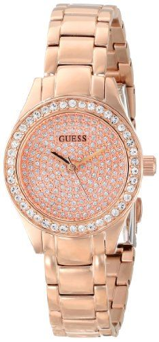 GUESS Women's U0230L3 Analog Display Quartz Rose Gold Watch GUESS, MEN'S AND WOMEN'S WATCHES to buy just click on amazon right here http://www.amazon.com/dp/B00BOVB8ZK/ref=cm_sw_r_pi_dp_Ej7Jsb04FWF61T8Q