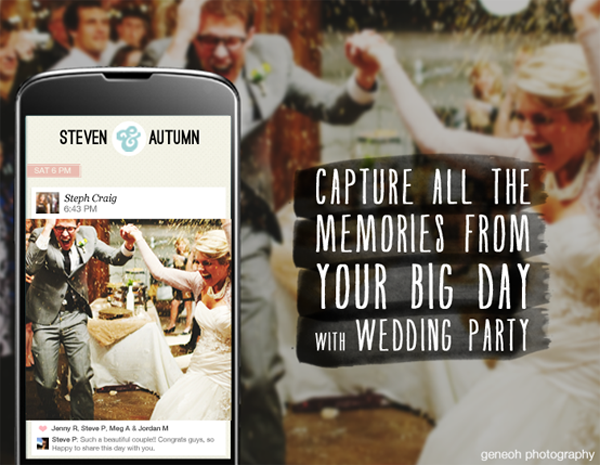See every moment of your wedding with Wedding Party! Your ...