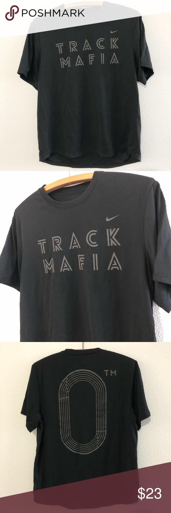 Anuncio Flexible salida  Nike Track Mafia Shirt Men's Medium | Mafia shirts, Mens shirts, Shirts