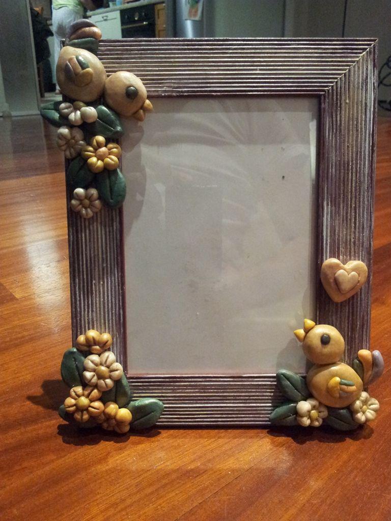 Portafoto stile thun in pasta di mais articoli da regalo - Porta foto thun ...