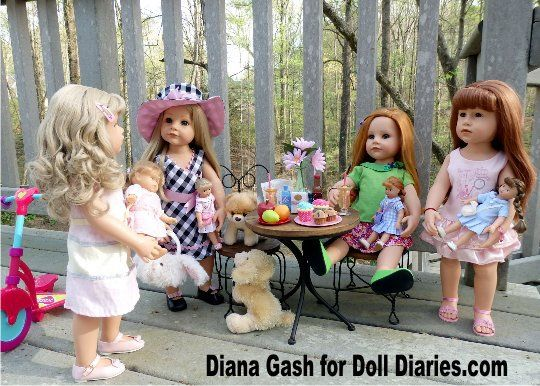 Gotz produced many play dolls which were sculpted by famous artists. One of my favorite face molds was created by Sissel Skille for Gotz, which are now retired and very sought after by young and o…