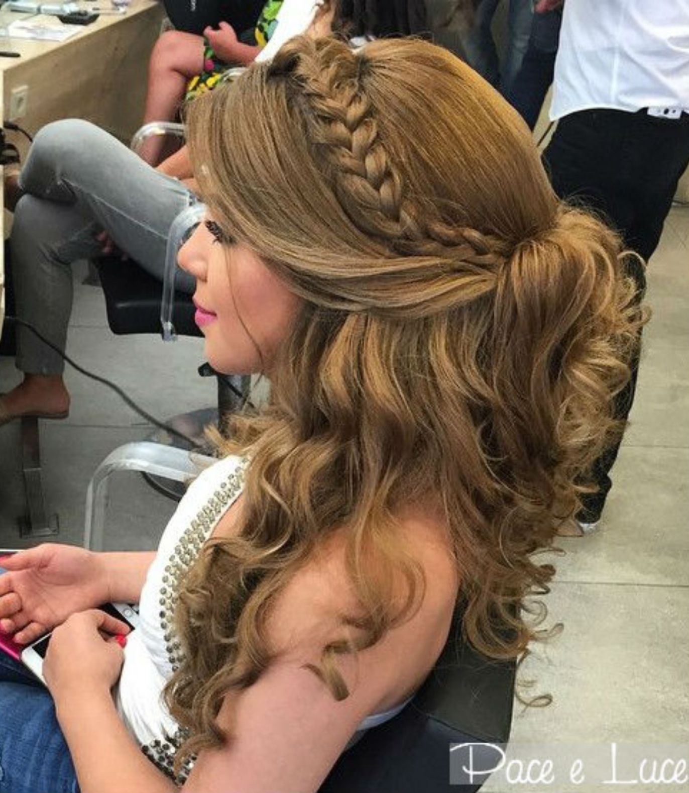 50 Half Updos For Your Perfect Everyday And Party Looks Thick Hair Styles Prom Hairstyles For Short Hair Half Up Hair