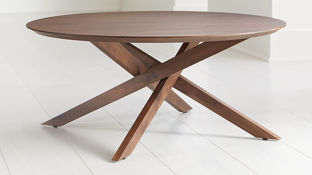 Apex Round Coffee Table Reviews Crate And Barrel Round