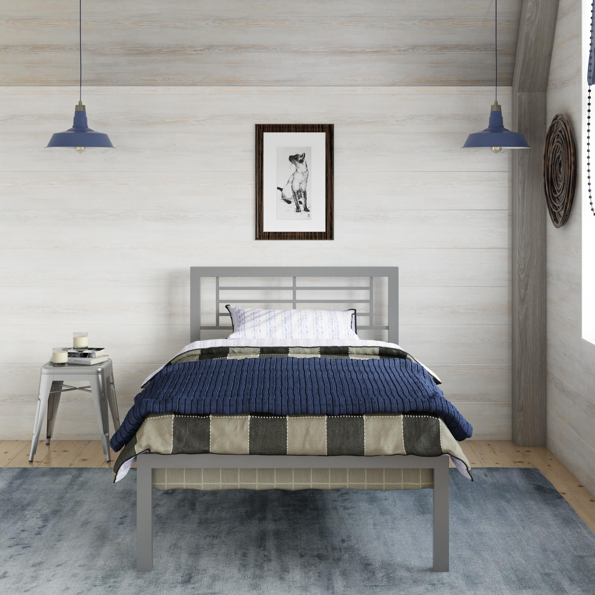 Home In 2020 Metal Platform Bed Loft Bed Frame Platform Bedroom