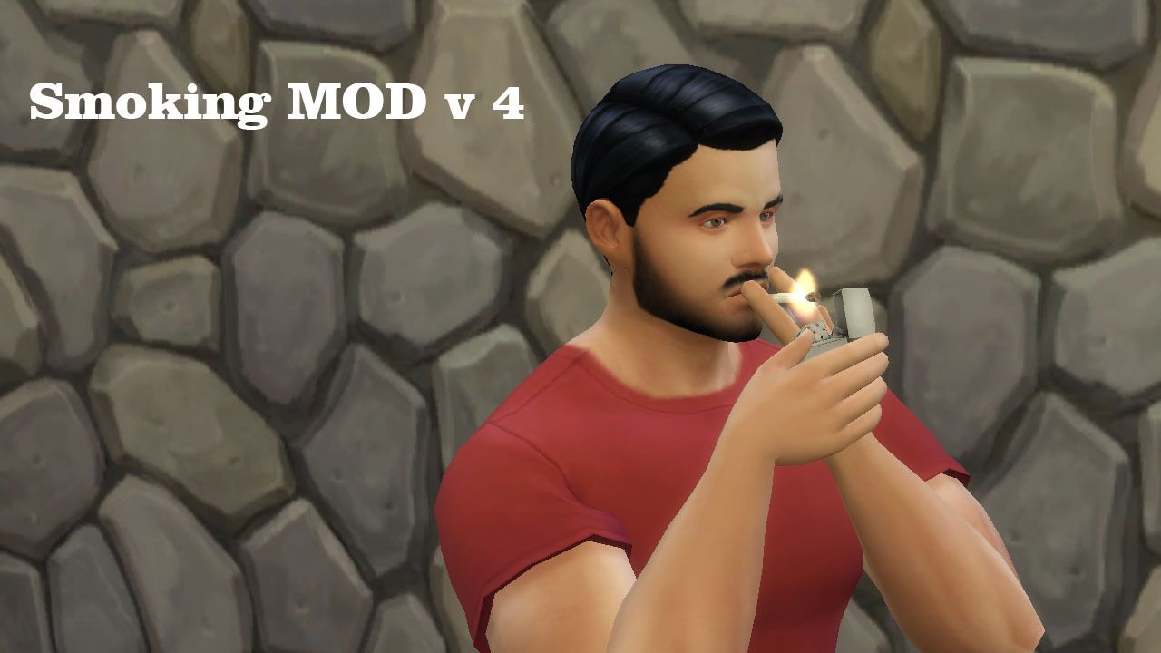 Necrodog MTS and S4S | Smoking MOD V4  Addiction system by