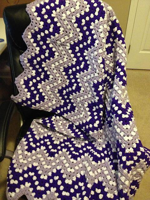 Ripple Waves Baby Blanket Crochet Pattern Crochetideas Crochetlove