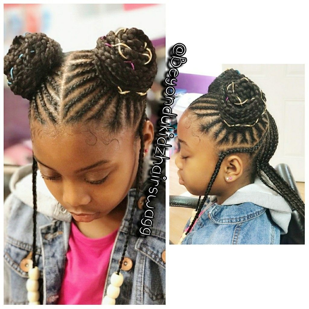 Pin By Anshe Johnson On Hair Ideas Lil Girl Hairstyles Braids For Kids Girls Braids