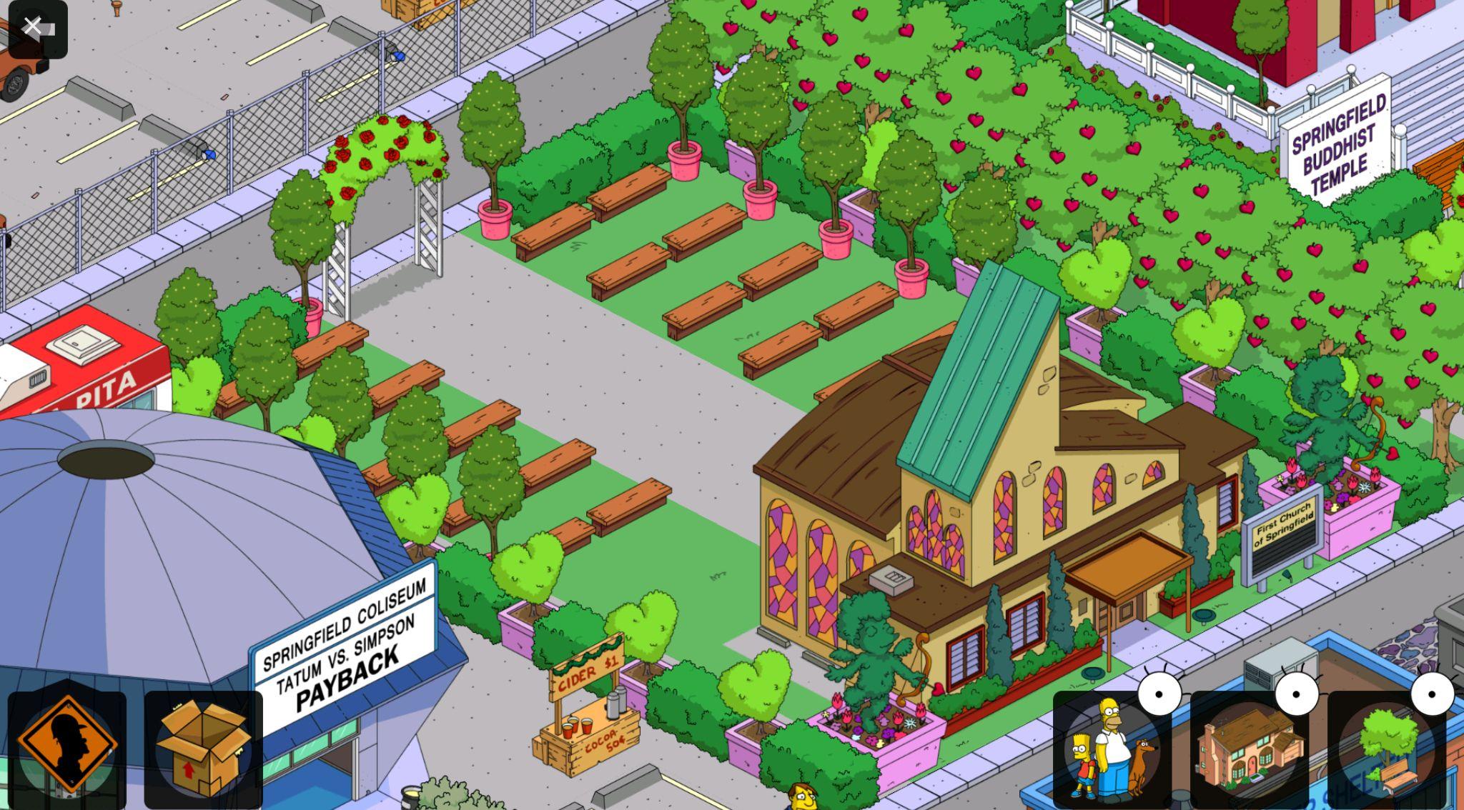 Симпсоны спрингфилд картинки городов