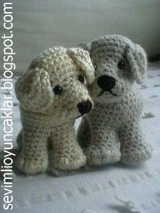 Amigurumi Little Dog Crochet Free Patterns - Crochet & Knitting | 300x225