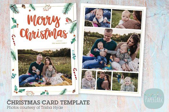 Ac094 Christmas Card Christmas Card Template Christmas Cards Cards