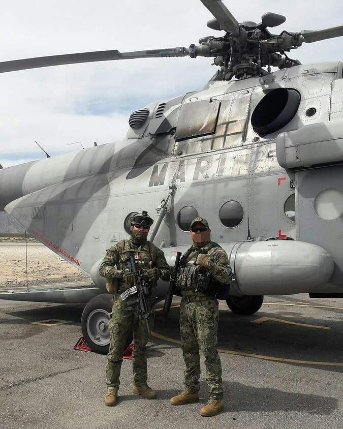 Elementos de la Armada de México asignados a la Unidad de