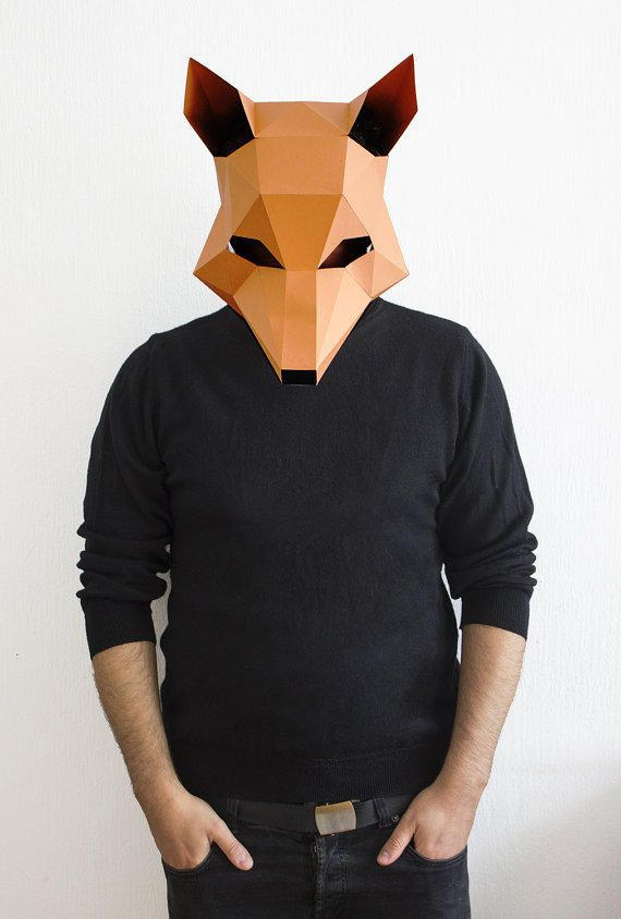 how to make a fantastic mr fox mask