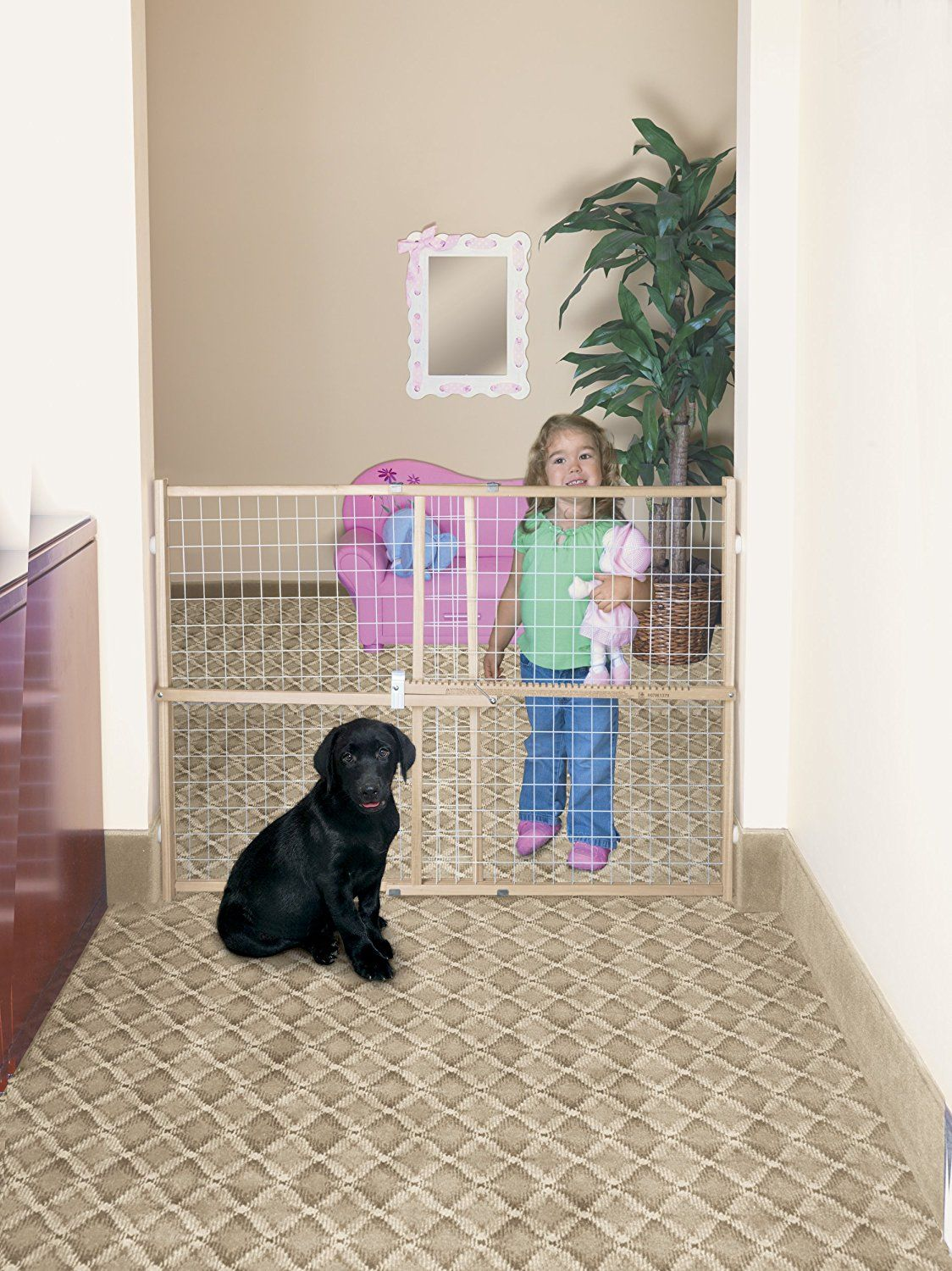 GMI Guardmaster II Wire Mesh Expansion Gate ** For more information, visit now : Cat Doors, Steps, Nets and Perches