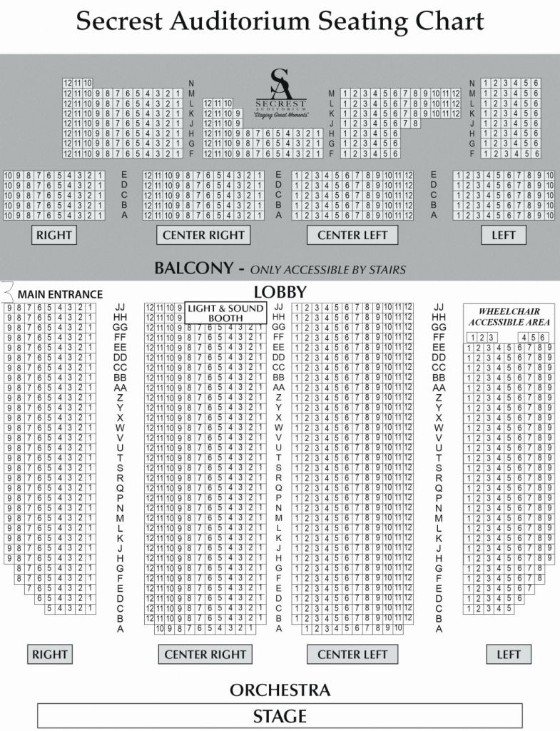 The Brilliant And Gorgeous Orpheum Theater Sf Seating Chart Seating Charts Chart Auditorium Seating Seating chart for ryman auditorium