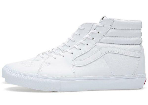 Vans Vault Sk8-Hi LX White