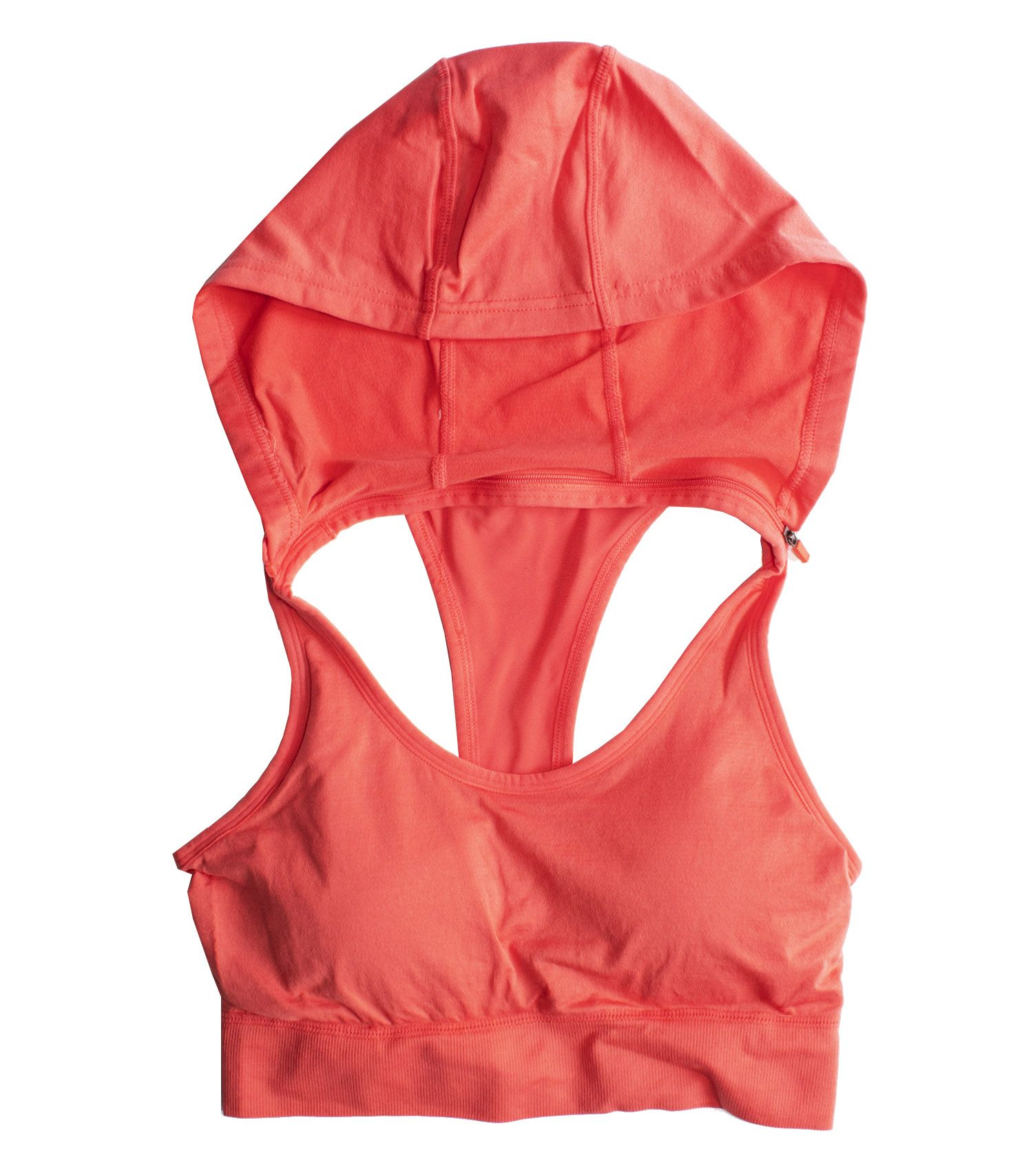 aa4fa15c7cf Throw a long sleeve over our sports bra hoodie for a not so hot morning  run. Did we mention the detachable hood   sportsbra  hoodie  fallfashion   stayfit ...