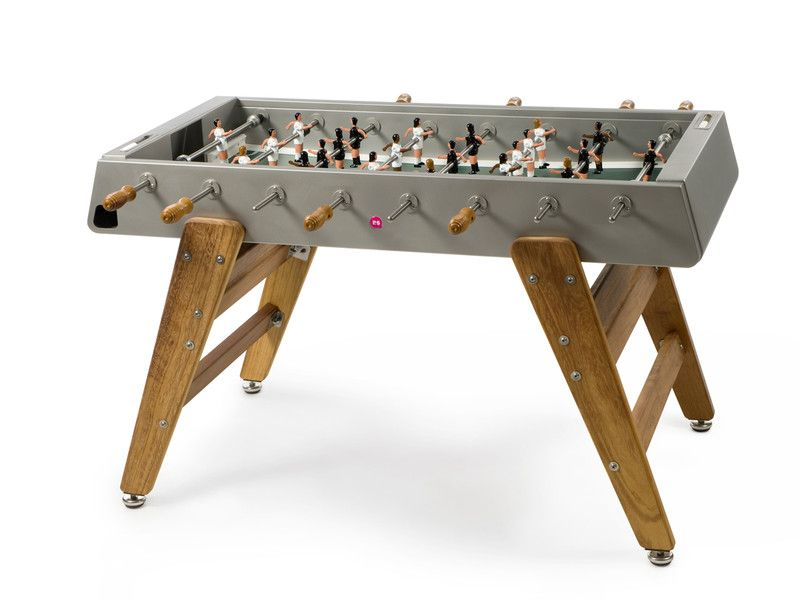 Rs Barcelona Rs 3 Wood Football Table With Images Outdoor