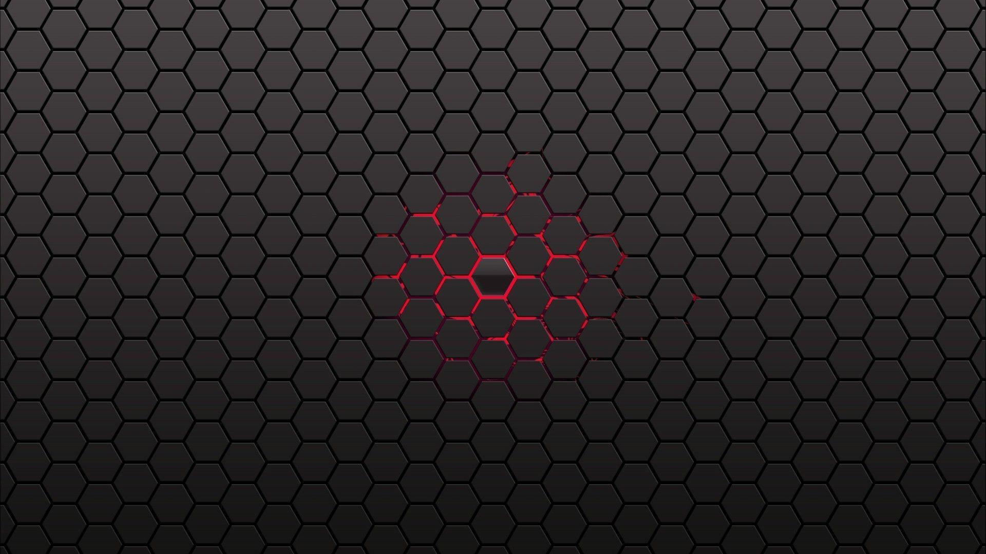 Blue Honeycomb Pattern Wallpaper Hexagon Wallpaper Honeycomb Wallpaper Abstract Wallpaper