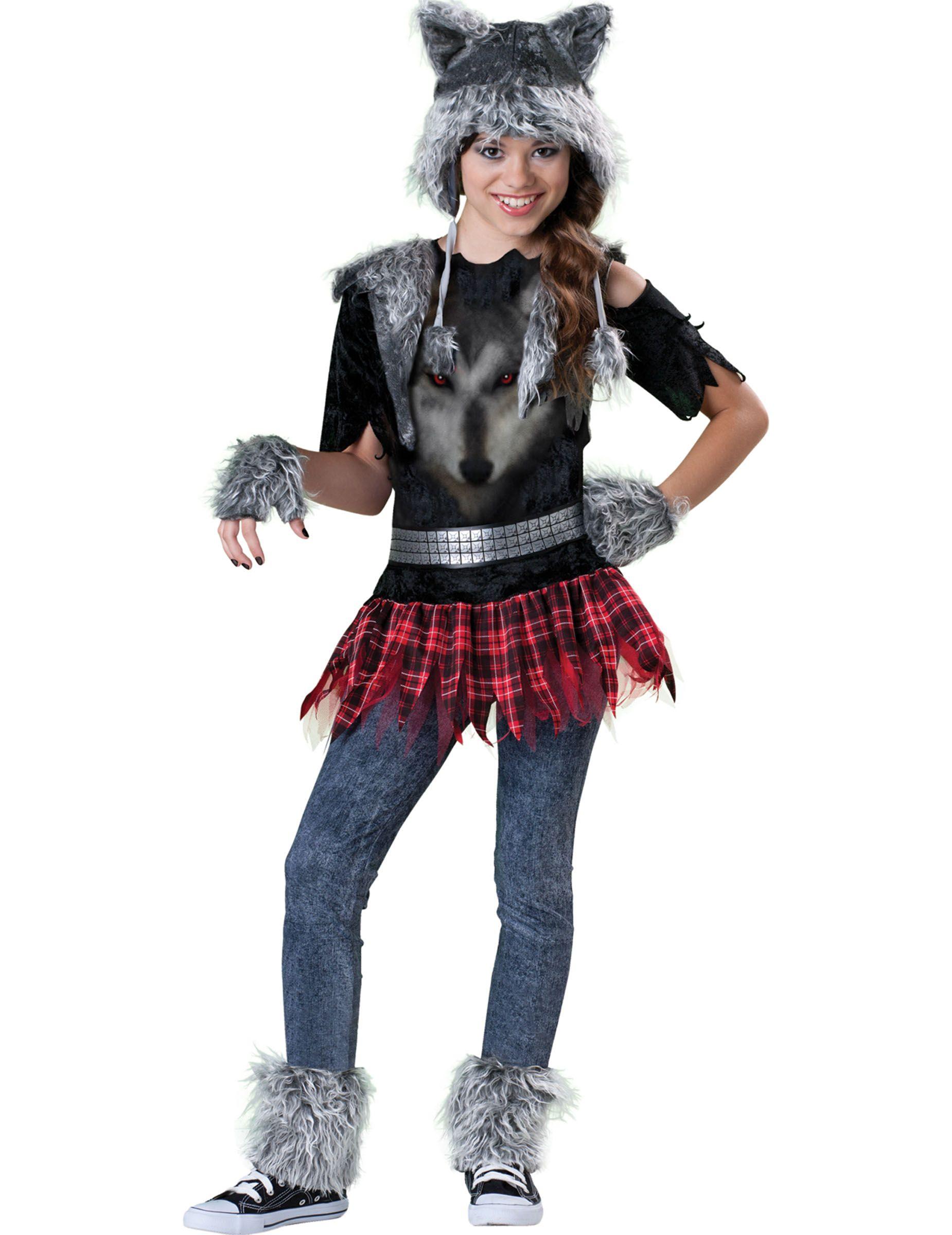 Halloween Kostuum Nl.Wolf Kostuum Voor Meisjes Premium Shrek Wolf Kostuum