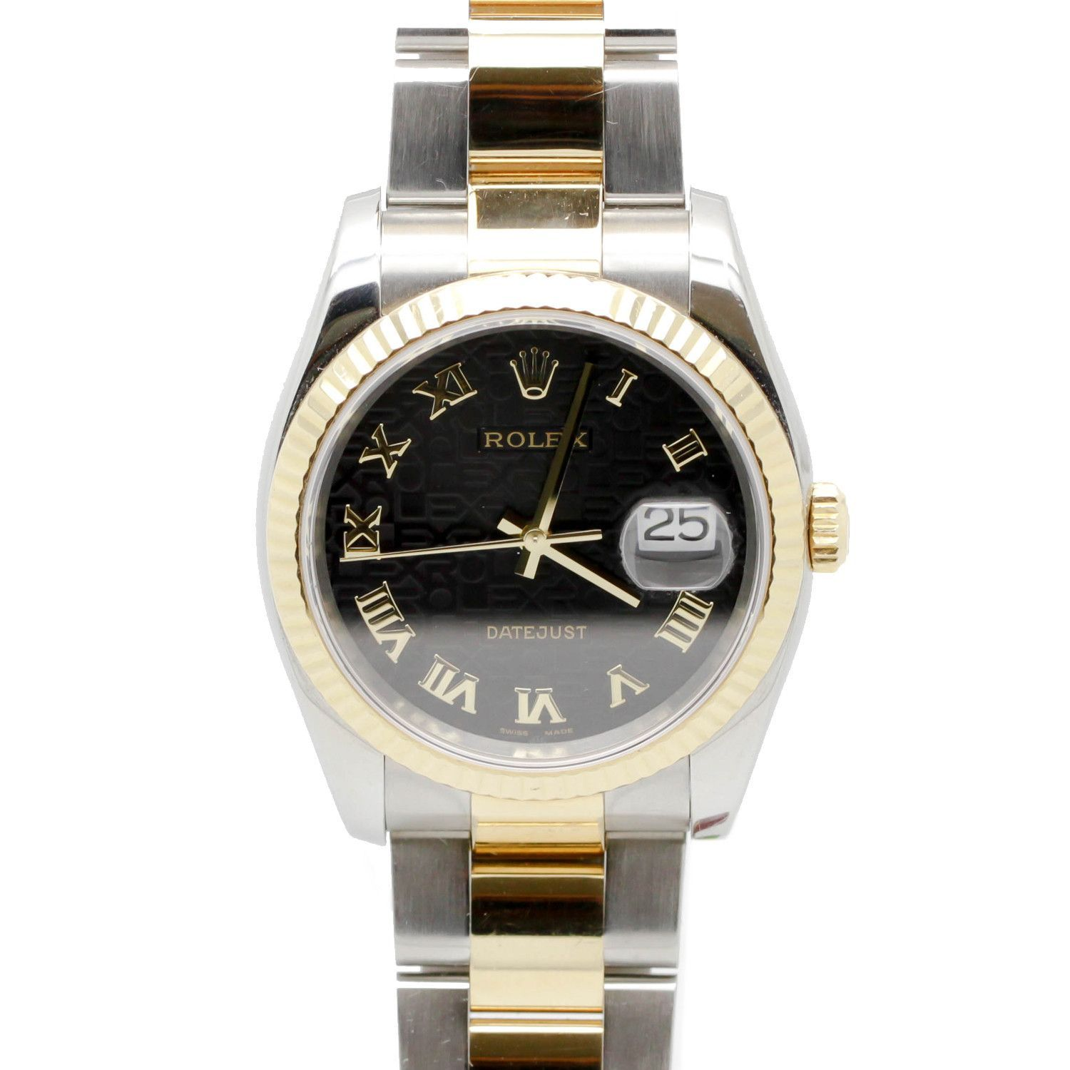 Rolex Datejust Stainless Steel & 18K Yellow Gold 41mm Mens Watch Limited Dial