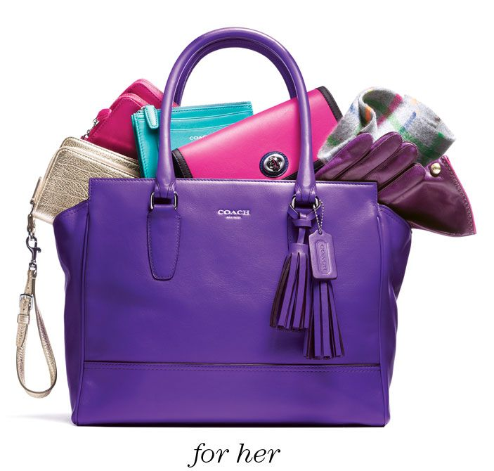 Shop Luxury Gifts by Price for Women and Men at Coach.com    Can someone just get me this whole bag?