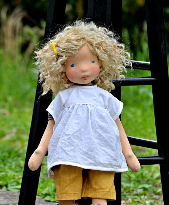 PDF Pattern - Summer Outfit for doll #instructionstodollpatterns
