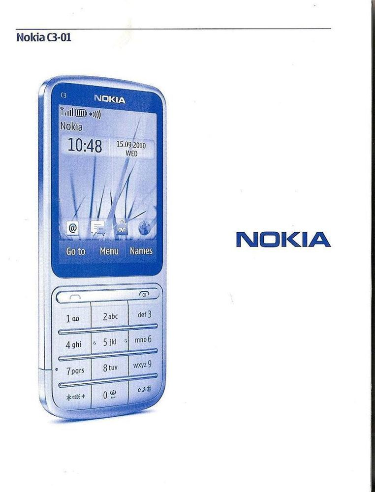 nokia c3 01 original accessories user s guide instruction manual rh pinterest com nokia c3-01 manual nokia c3-01 manuale