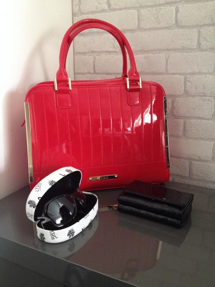 Pimlico Tote In Red Alexis Small Purse And Sunnies All Available Now